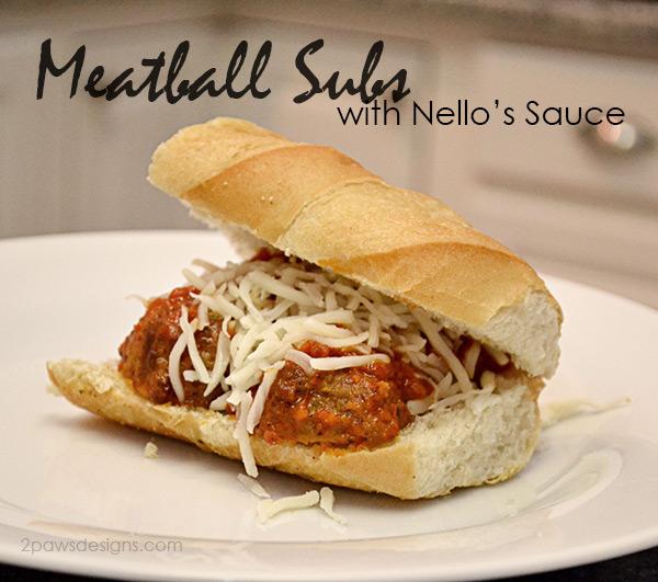 Meatball Sub with Nello's Sauce