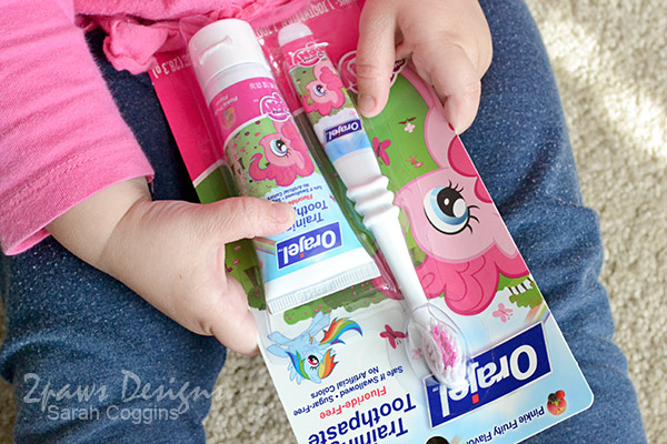 Orajel™ Training Toothpaste & Toothbrush: My Little Pony