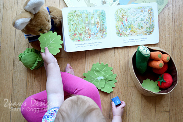Peter Rabbit Board Book Interactive Toddler Play