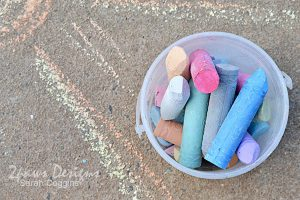 Project 52 Photos 2016: Week 11 - Sidewalk Chalk