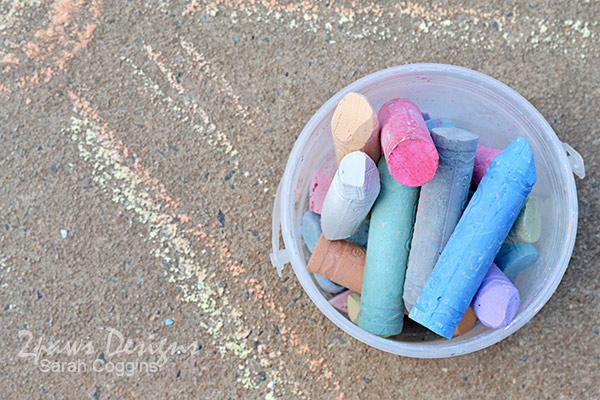 Project 52 Photos 2016: Week 11 - Sidewalk Chalk