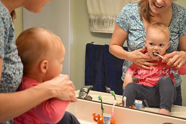 Toddler Teeth Brushing