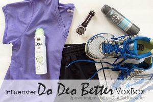 Influenster Do Deo Better VoxBox review #DoDeoBetter