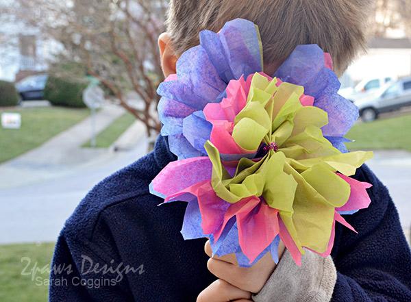 Teacher Appreciation Week: Tissue Paper Flowers