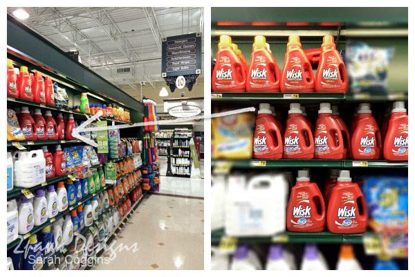 Wisk Detergent at Harris Teeter #Wisk60 #ad
