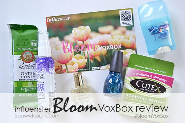 Influenster Bloom VoxBox review #BloomVoxBox