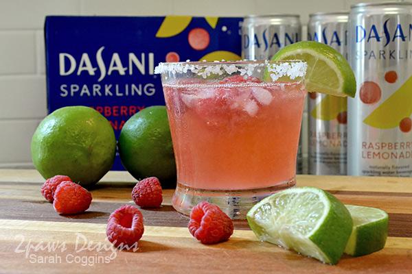 Raspberry Lemon-Lime Naptime Mocktail #NewWayToSparkle #ad