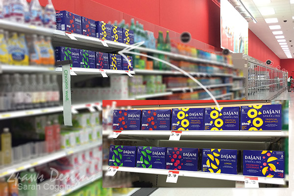 Dasani Sparkling Water at Target #NewWayToSparkle #ad