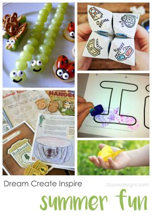 Dream Create Inspire: Kids' Summer Fun