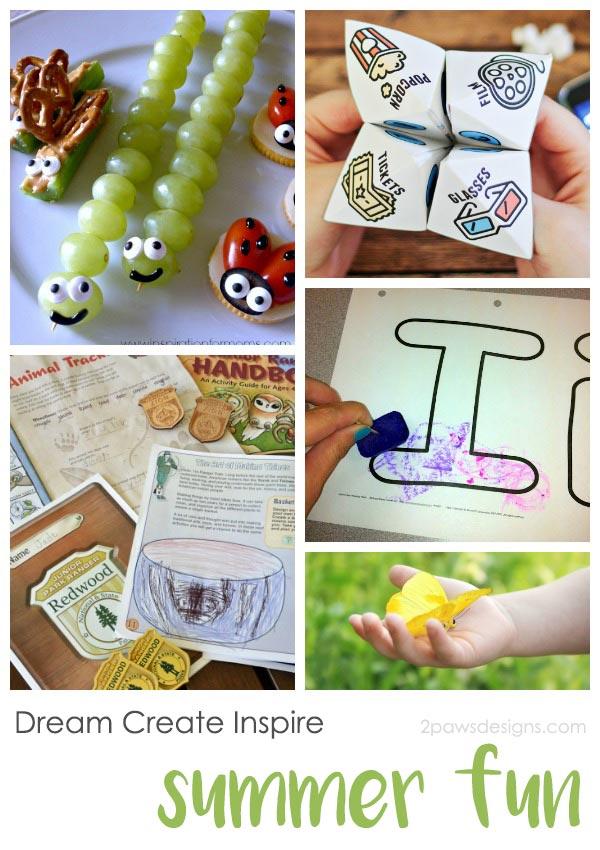Dream Create Inspire: Kids' Summer Fun