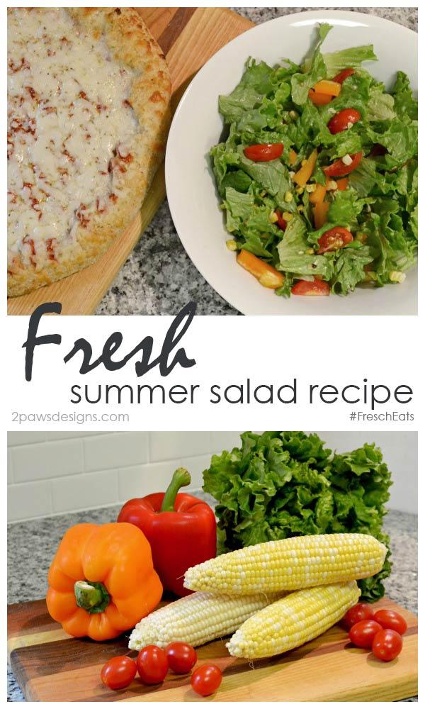 Fresh Summer Salad Recipe #FreschEats #ad