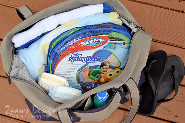 Pool Bag: SwimWays® Baby Spring Float #SwimWays #ad
