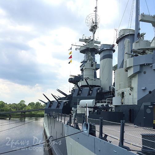 Project 52 Photos 2016: Week 19 USS North Carolina Battleship
