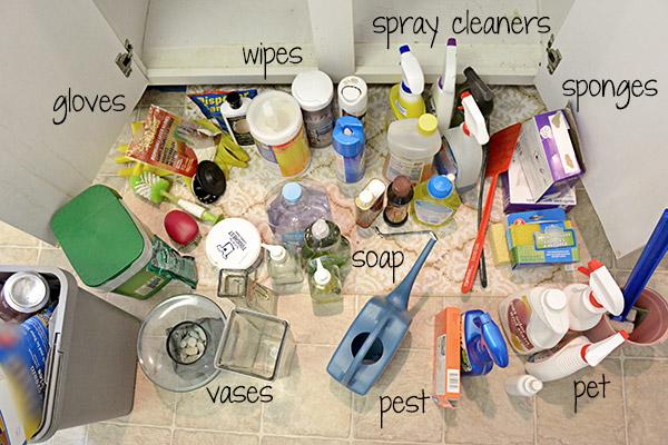 Project Kitchen: Under Sink Organization - Step 2