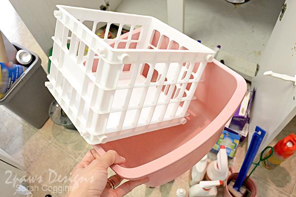 Project Kitchen: Under Sink Organization - Step 3