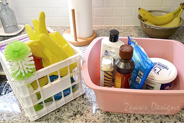 Project Kitchen: Under Sink Organization - Step 4
