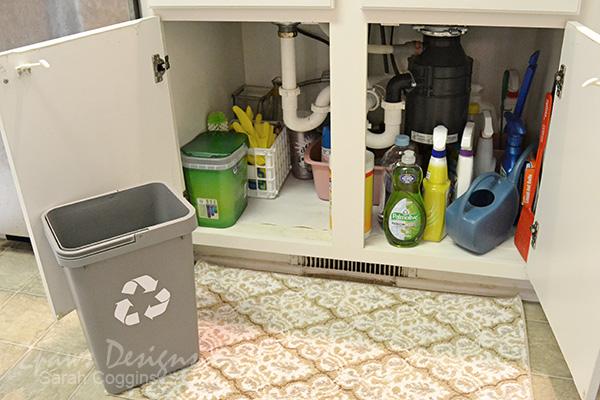 Project Kitchen: Under Sink Organization - Step 6
