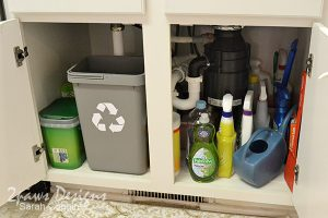 Project Kitchen: Under Sink Organization - Step 6