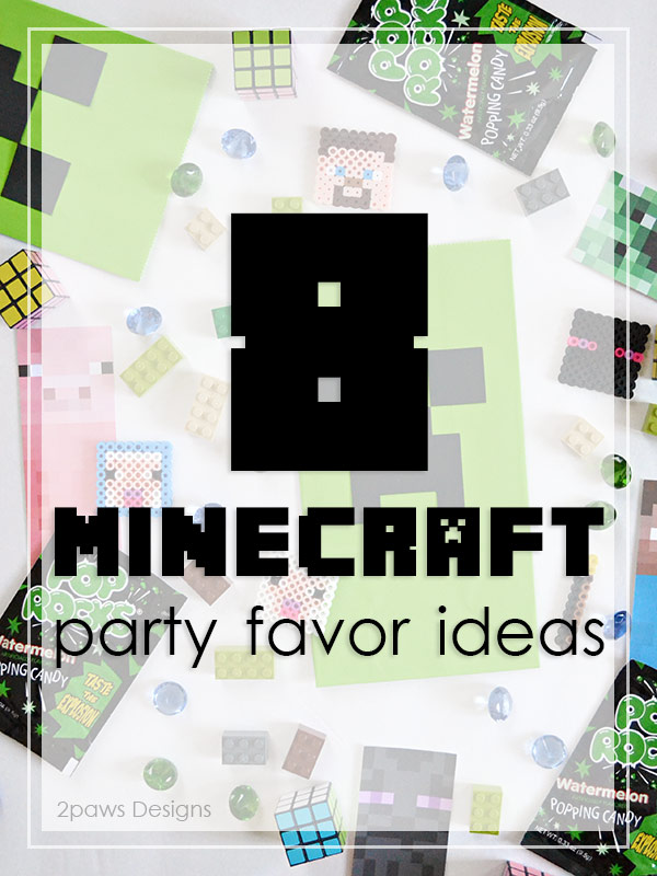 8 Minecraft Party Favor Ideas #eBayGuides #ad