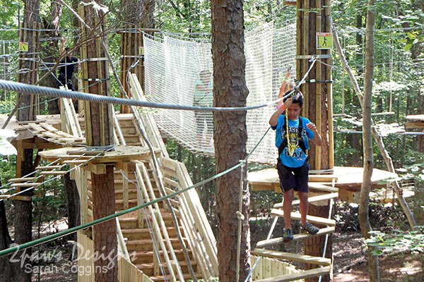 Go Ape Treetop Junior - Raleigh, NC