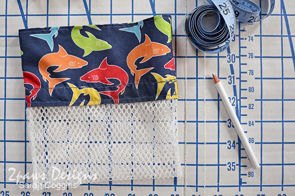 DIY Seashell Bag: Step 8 - Basic Bag Complete
