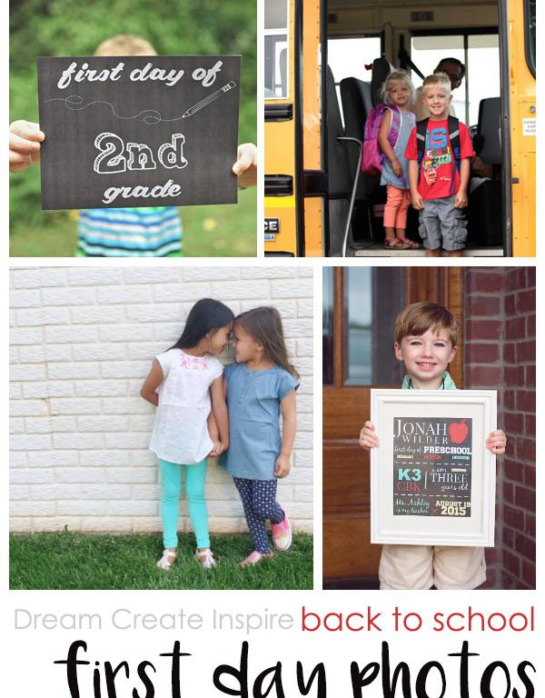 Dream Create Inspire: Back to School - First Day Photos
