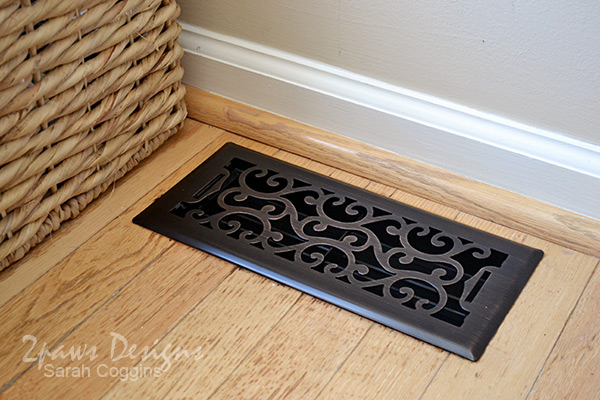 Foyer: Decorative Vent Cover / Floor Register