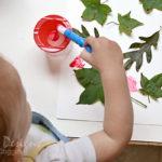 Leaf Painting Craft