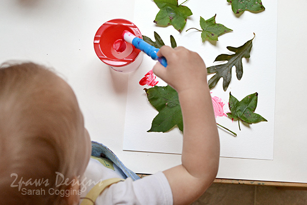 Leaf Painting Craft