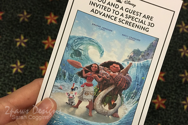 Disney's Moana: Screening Event Pass