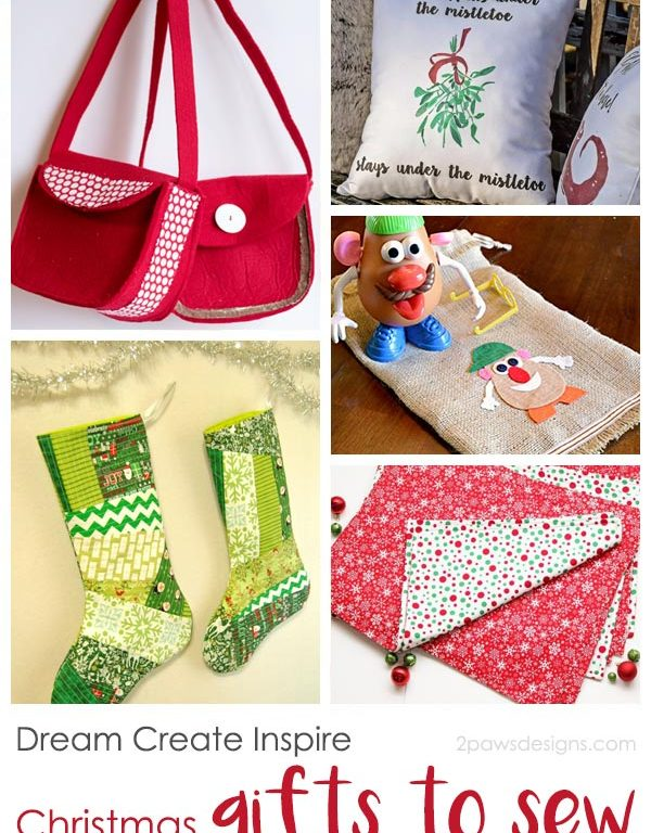 Dream Create Inspire: Christmas Gifts to Sew