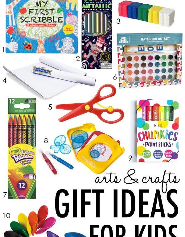 10 Arts & Crafts Gift Ideas for Kids under 10 Dollars