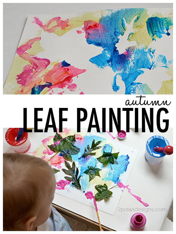 Simple Autumn Leaf Painting Craft