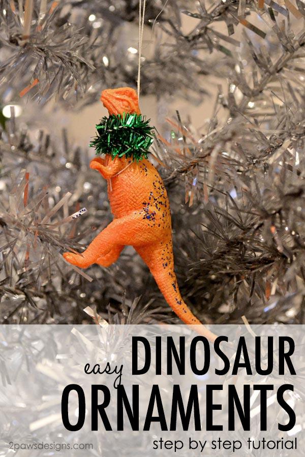 DIY Dinosaur Ornaments: Step by Step Tutorial