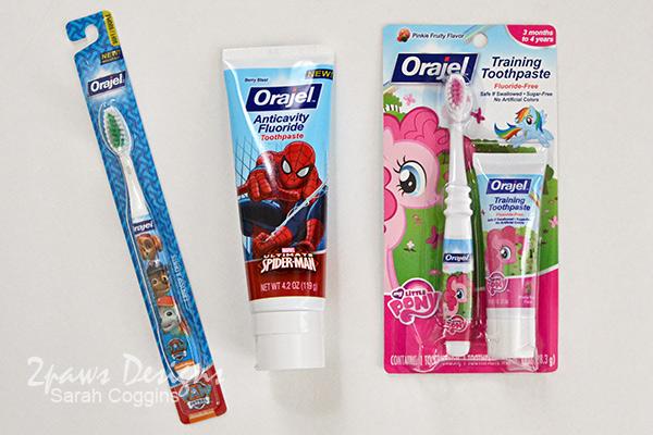 Orajel™ Kids' Toothpaste and Toothbrushes #Smilehood #ad