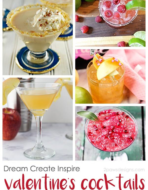 Dream Create Inspire: Valentine's Cocktails & Mocktails