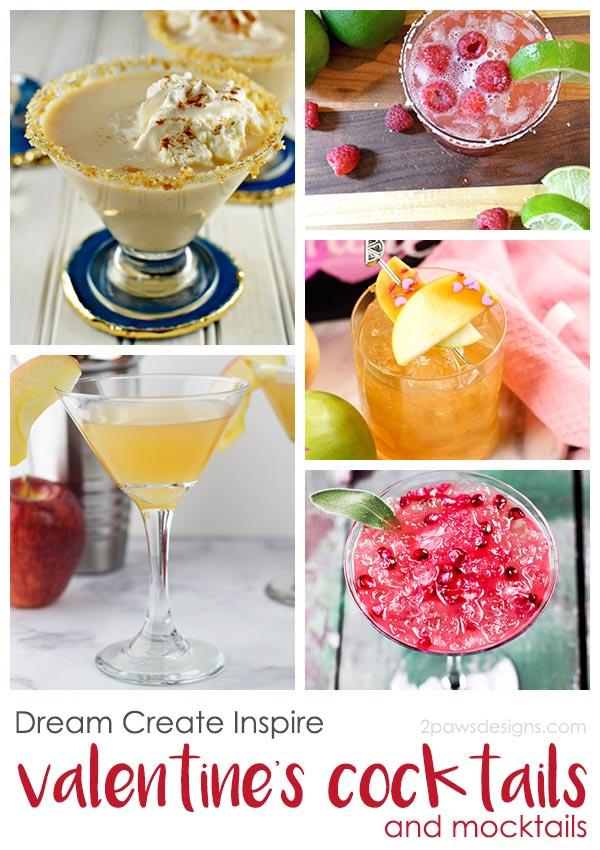 Dream Create Inspire: Valentine's Cocktails & Mocktails