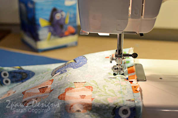 Dory Pillowcase: Sew Edges