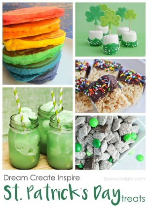 Dream Create Inspire: St. Patrick's Day Treats
