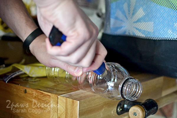 Bee Hotel Tutorial: Cut Bottle