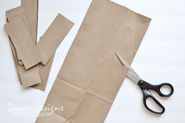 Bee Hotel Tutorial: Cut Paper Rectangles