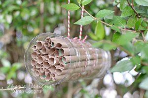 Bee Hotel Tutorial: Hanging