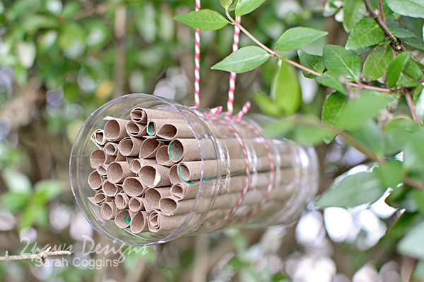 Bee Hotel Tutorial: Hanging
