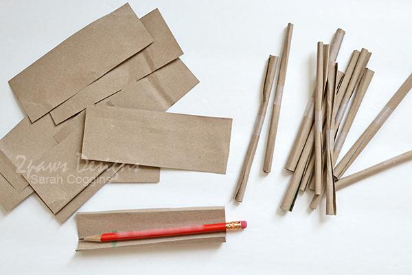 Bee Hotel Tutorial: Paper Straws