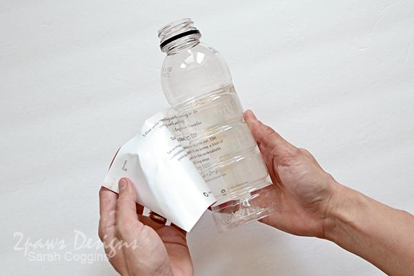 Bee Hotel Tutorial: Remove Bottle Label