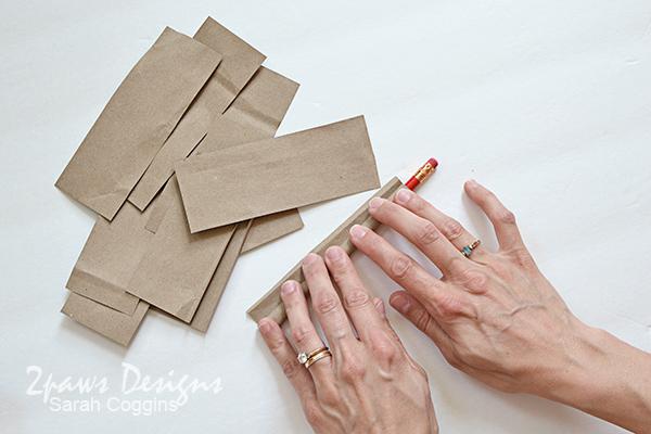 Bee Hotel Tutorial: Roll Paper Straws