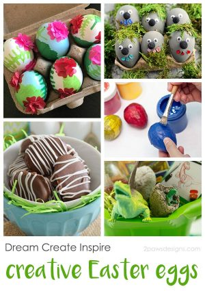 Dream Create Inspire: Creative Easter Eggs