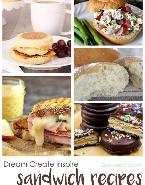 Dream Create Inspire: Sandwich Recipes