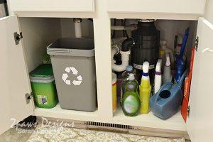 Recycling Bin Under Kitchen Sink