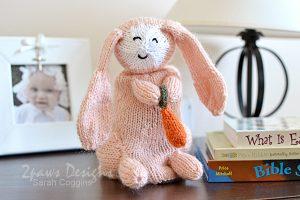 Topsy-Turvy Bunny & Lamb toy: Pink Bunny